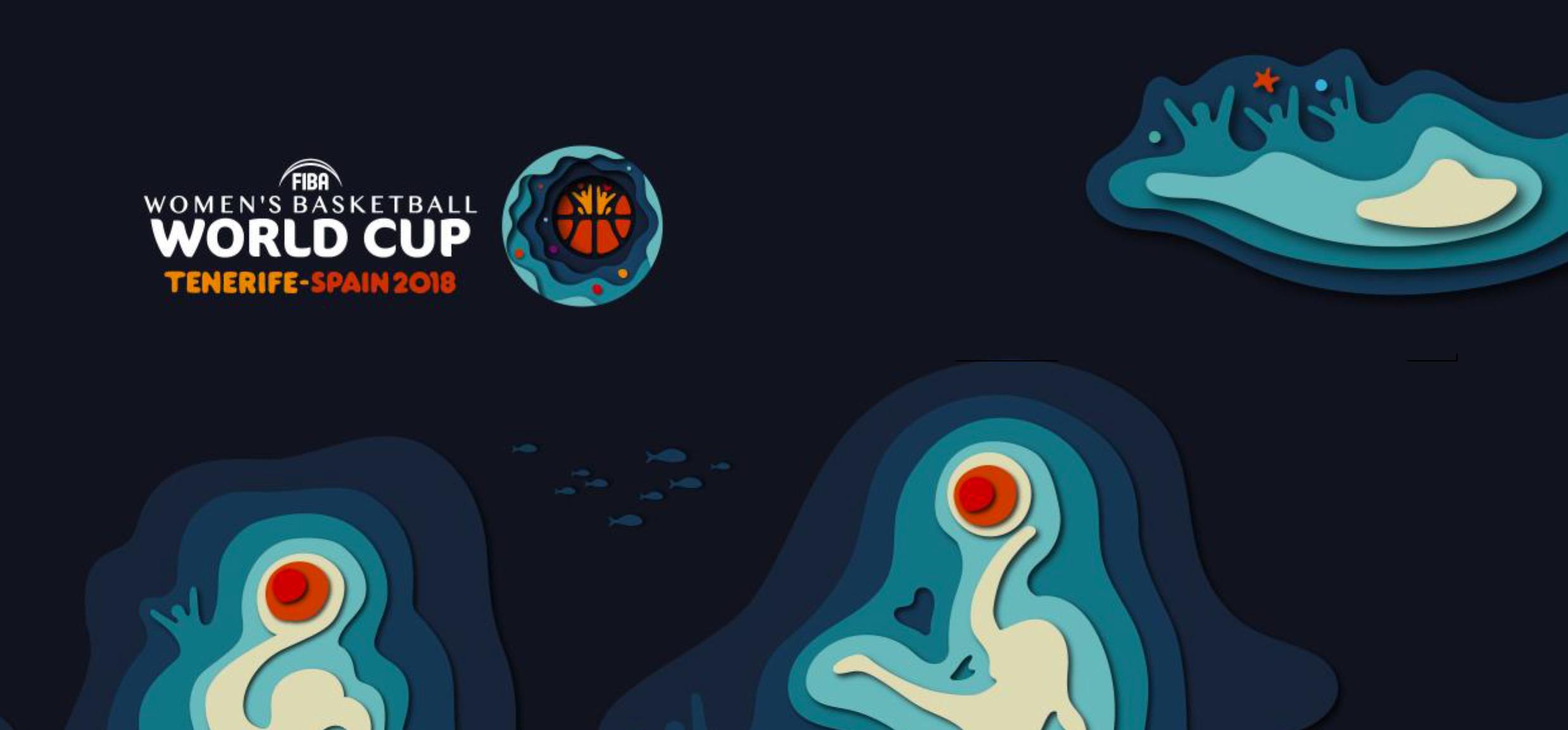 Visuel officiel - FIBAWWC2018