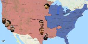 NBA – Infographie : 5 statistiques qui montrent la supériorité de l'Ouest