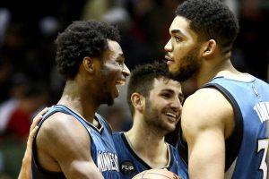 NBA – Top 5 de la nuit : Andrew Wiggins, Ricky Rubio et Karl-Anthony Towns se baladent !