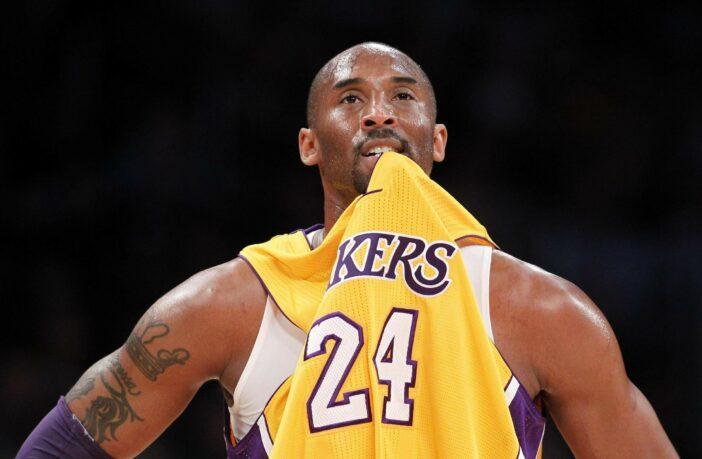 Kobe Bryant sous le maillot des Lakers