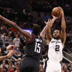 NBA – Game 3 : San Antonio dynamite les Rockets !