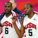 NBA – LeBron James et Kevin Durant ont enregistré un son ensemble