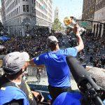 NBA – Oakland a célébré ses héros !