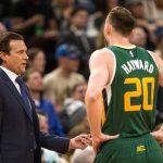 NBA – Quin Snyder réagit au départ de Gordon Hayward pour Boston