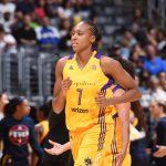 WNBA – Sandrine Gruda de retour à Los Angeles