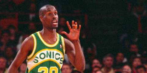 Gary Payton trash talking