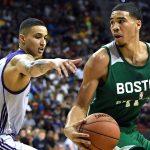 NBA – Jayson Tatum heureux de pouvoir jouer avec Kyrie Irving