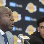 NBA – James Worthy voit du Magic Johnson en Lonzo Ball