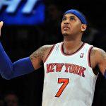 NBA – Les négociations concernant l'échange de Carmelo Anthony sont au point mort