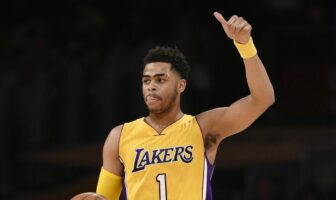 D'Angelo Russell sous le maillot des Nets