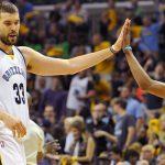 NBA – Grizzlies : Conley et Gasol intouchables