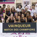 Open LFB – Bourges remporte le Match des Champions