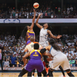 WNBA – Finales : Les joueuses de Los Angeles répondent aux provocations de D.Trump