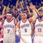 NBA – Preview 2017-2018 : Un coup de tonnerre éphémère pour le Thunder ?
