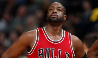 Dwyane Wade sous le maillot des Bulls