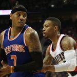 NBA – Damian Lillard sur une potentielle arrivée de Carmelo Anthony à Portland : «Il ne semble pas opposé»