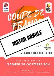 Coupe de France Féminine : Chartres déclare forfait face au Hainaut