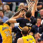 NBA – Les Français de la nuit : Rudy Gobert détruit les Lakers, Joffrey Lauvergne réalise un match complet !