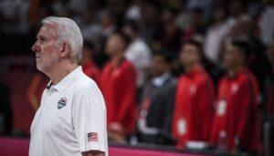 Team USA – Gregg Popovich évoque les joueurs qui lui ont fait un faux plan