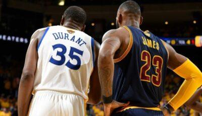 NBA – Kevin Durant révèle la grande inspiration qu'a été… LeBron James