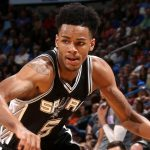 NBA – Dejounte Murray prolongé par les Spurs jusqu'en 2019 !