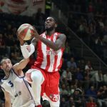 ABA League – Les très bons débuts de Mathias Lessort avec l'Étoile Rouge de Belgrade