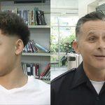 Insolite – Le magnifique geste d'un policier américain avec un jeune de 15 ans !