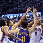 NBA – Les Warriors trouvent Russell Westbrook «très facile» à défendre