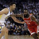 NBA – Les Rockets surprennent les Warriors à domicile