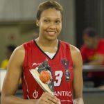 Alicia DeVaughn championne d'Afrique