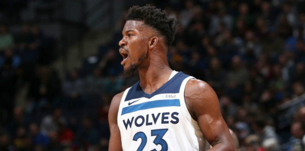 Jimmy Butler sous le maillot des Wolves