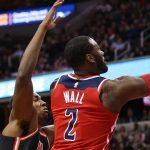 NBA – Souci au genou pour John Wall qui pourrait manquer le match de dimanche