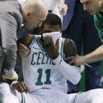 NBA – Fracture mineure au visage pour Kyrie Irving