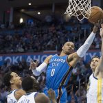 NBA – Top 10 de la nuit : Russell Westbrook met en feu la Chesapeake Arena !