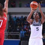 EDF Basket (F) : «Je ne serai jamais Céline Dumerc» Endy Miyem nouvelle capitaine des Bleues