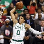 NBA – Top 10 de la nuit : Jayson Tatum balance deux météorites sur Atlanta