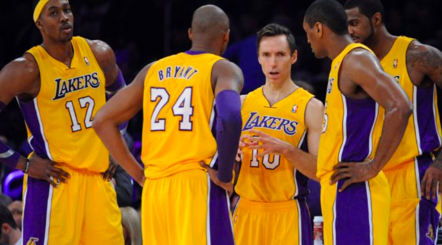 los angeles lakers 2012 2013 kobe bryant dwight howard ron artest steve nash