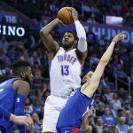 NBA – Top 5 de la nuit : Paul George fait tomber la foudre sur Dallas
