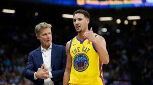 NBA – L'erreur de Steve Kerr avec Klay Thompson