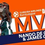 Euroleague – MVP J10 : Pas un mais deux MVP cette semaine !