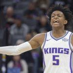 NBA – Deux semaines d'absence pour De'Aaron Fox