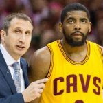 NBA – David Blatt salue le courage de Kyrie Irving en demandant à partir