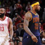 NBA – Joueurs de la semaine : LeBron James et James Harden honorés