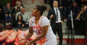 CDF Basket (F) – Vidéo : Les 7 paniers à 3 points de Kaleena Lewis face à Nice