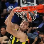 Euroleague – Top 10 du mois de novembre : L'art du poster dunk par Jan Vesely