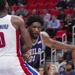 NBA – Drummond et Embiid se chauffent avant le match !