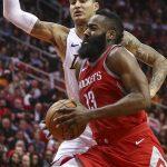 NBA – Matchs à plus de 50 points : James Harden réussit une première depuis 2007