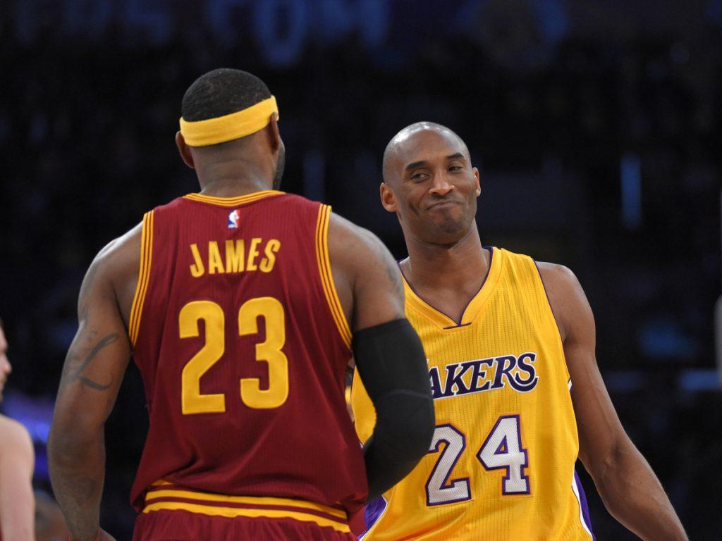 Kobe Bryant et LeBron James
