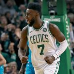 NBA – Top 10 de la nuit : La claquette extraordinaire de Jaylen Brown !