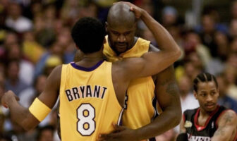 Shaquille O'Neal et Kobe Bryant